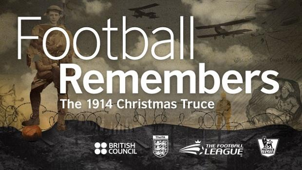 Football to honour 1914 Christmas Truce centenary this December