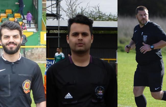 Corinthian referees selected for county cup finals