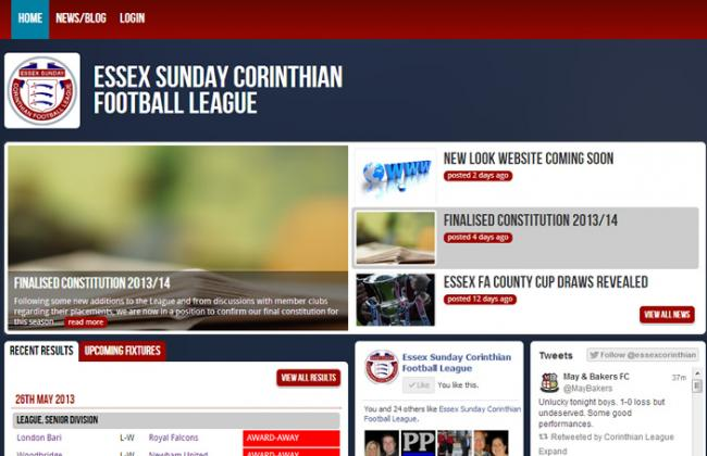 Welcome to our brand new league website!