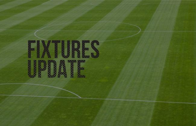 Fixtures for early October now released