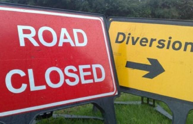 Road closure this weekend on A127