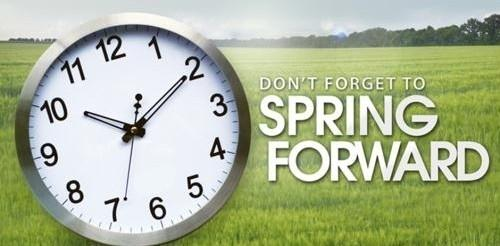 Clocks going forward