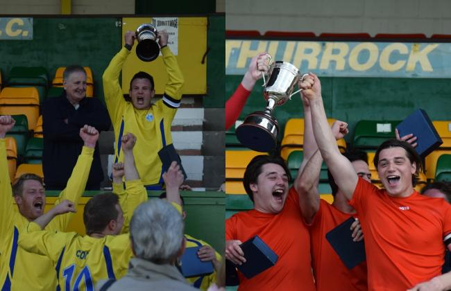 Barking & SL Menfica upset the odds in cup final wins