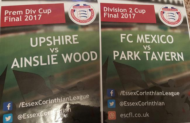 CUP FINAL PREVIEWS: Premier Division Cup and Division 2 Cup finals