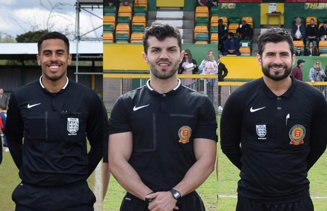 Confirmed promotions to FA list for three Corinthian referees