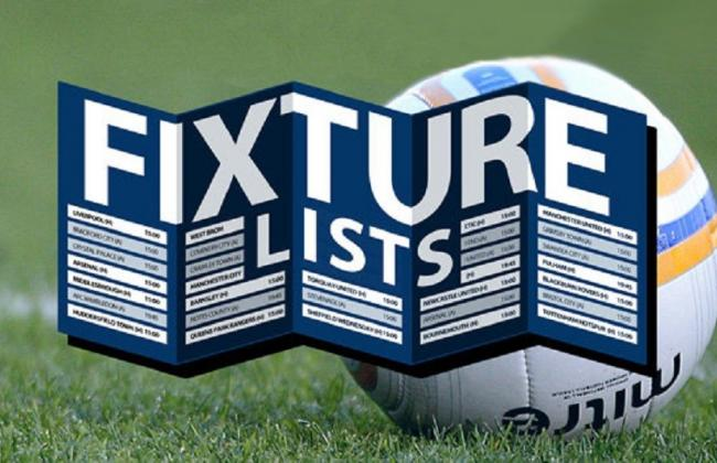 Fixtures for December and into January now online