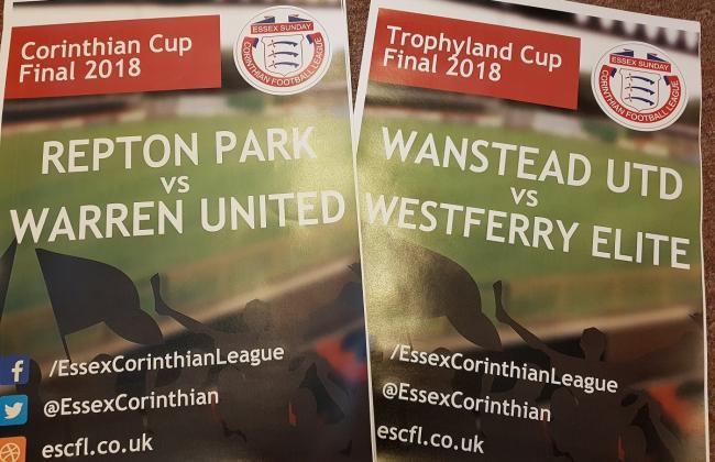 CUP FINAL PREVIEWS: Corinthian and Trophyland Cup