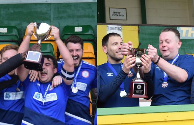Romford Elite and Thames Ironworks clinch cup final glory