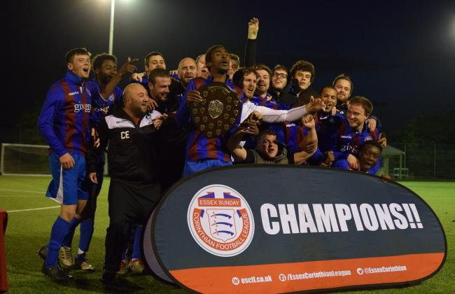 Dagenham United Reserves seal Division 3 league title