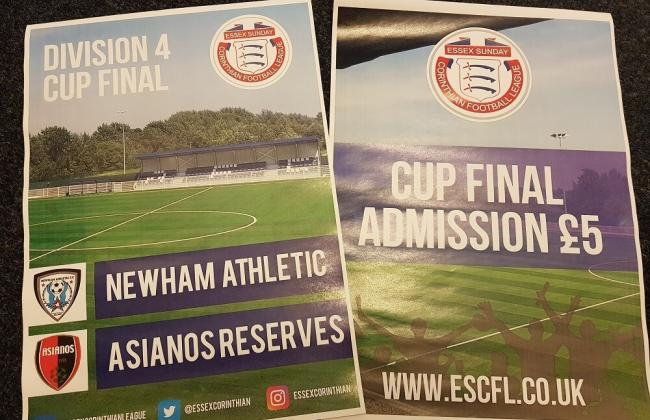 CUP FINAL PREVIEW: Newham Athletic take on Asianos in Division 4 Cup Final