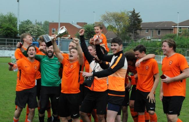 Repton Park earn treble with charity cup victory