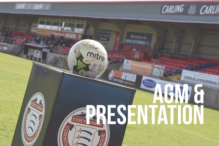 AGM and Presentation Evening paperwork issued to clubs