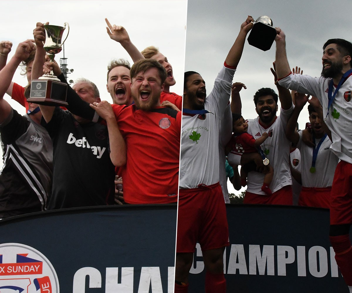 Cobra and Asianos Reserves seal cup glory at Mayesbrook Park