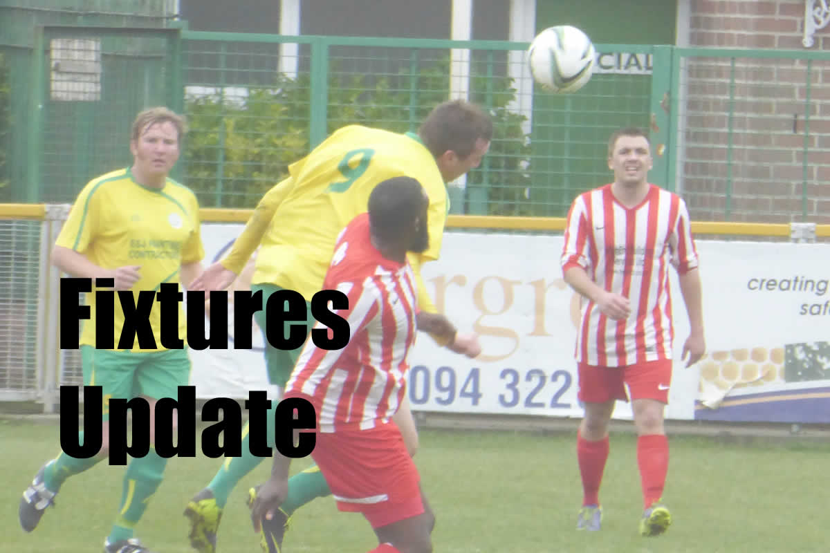 Fixtures for October published