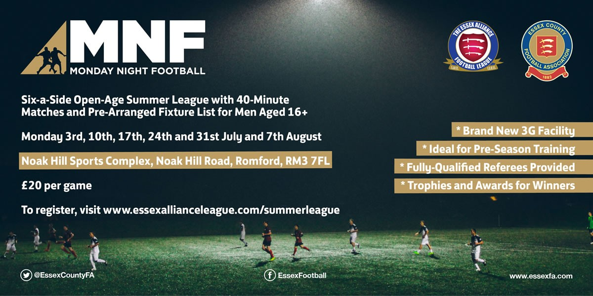 Invitation for Corinthian clubs to compete in EAL Summer League
