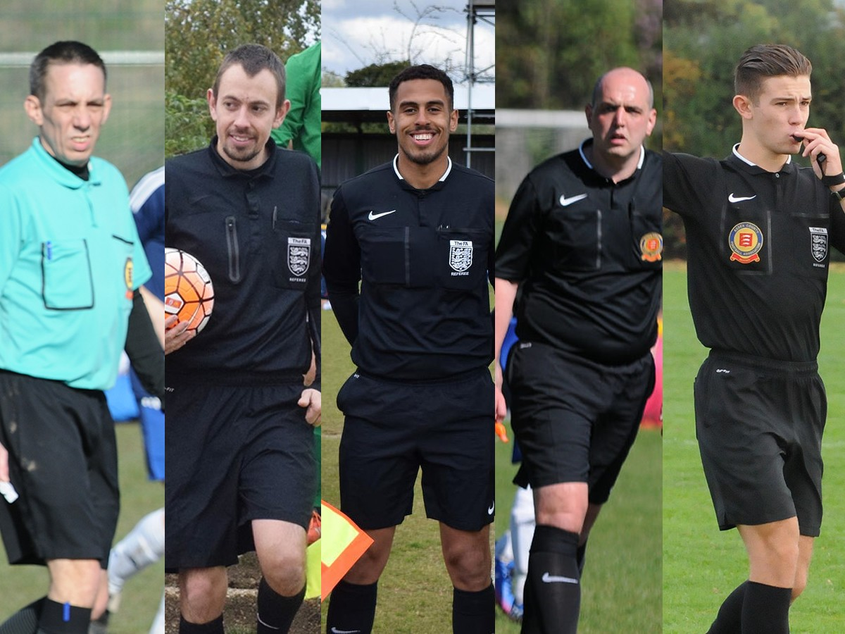 Five Corinthian referees selected for county cup final appointments