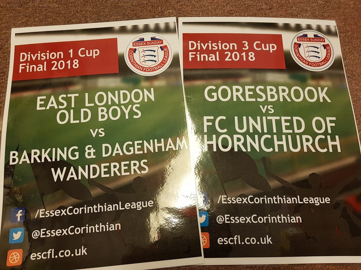 CUP FINAL PREVIEWS: Division 1 Cup and Division 3 Cup finals