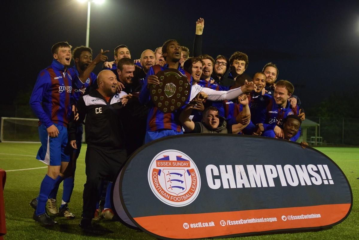Dagenham United Reserves seal Division 3 league title