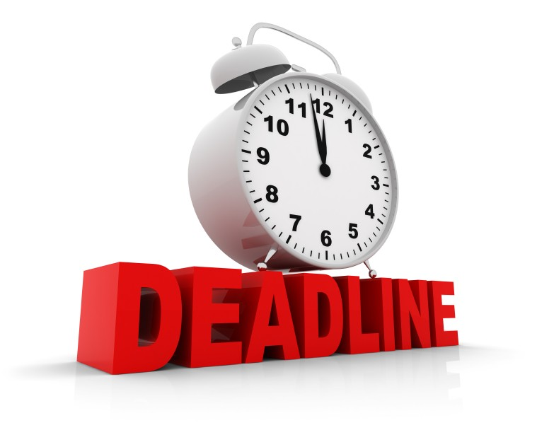 Upcoming deadlines for Corinthian clubs