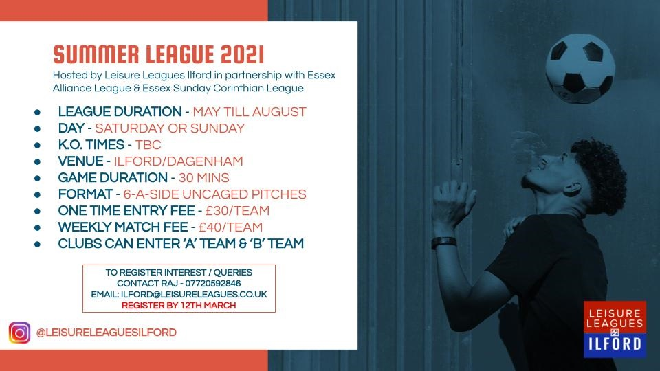 Leisure Leagues Ilford